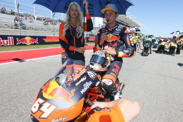 2017 Moto3 Championship - Round 3 Circuit of the Americas, Austin, Texas, USA Sunday 23 April 2017 Bo Bendsneyder, Red Bull KTM Ajo World Copyright: Gold and Goose Photography/LAT Images ref: Digital Image Moto3-Pre-500-2698