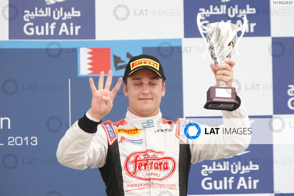 2013 GP2 Series. Round 2.  Bahrain International Circuit, Sakhir, Bahrain. 21st April.  Sunday Race.  Stefano Coletti (MON, Rapax).  World Copyright: Glenn Dunbar/GP2 Series Media Service. Ref: _89P4360