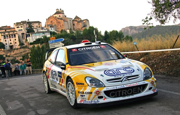 FIA World Rally Championship 2007Round 12Rally of Spain, Catalunya.4th - 7th October 2007Francois Duval, Citroen, Action.Worldwide Copyright: McKlein/LAT