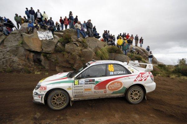 2008 FIA World Rally ChampionshipRound 04Rally Argentina 27-30 of MarchJari Ketomaa, PWTC Subaru, ActionWorldwide Copyright: McKlein/LAT