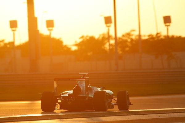 2014 GP3 Series Test 3.   Yas Marina Circuit, Abu Dhabi, United Arab Emirates. Saturday 29 November 2014. Seb Morris (GBR, Status Grand Prix)  Photo: Sam Bloxham/GP3 Series Media Service. ref: Digital Image _14P2990