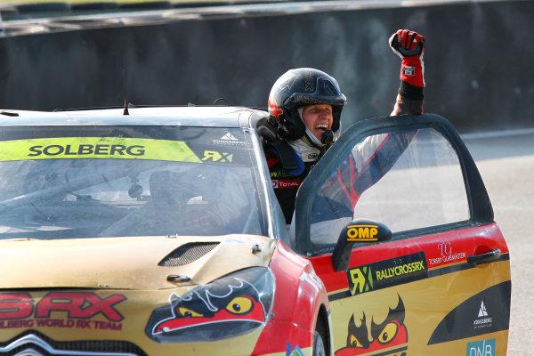 2014 FIA World Rallycross Championship Round 10 Franciacorta, Italy 27th & 28 th September 2014 Petter Solberg, Citroen, portrait Worldwide LAT / McKlein