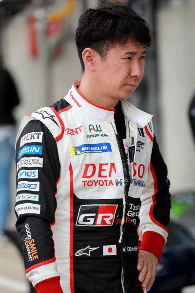 #7 Toyota Gazoo Racing Toyota TS050: Kamui Kobayashi.
