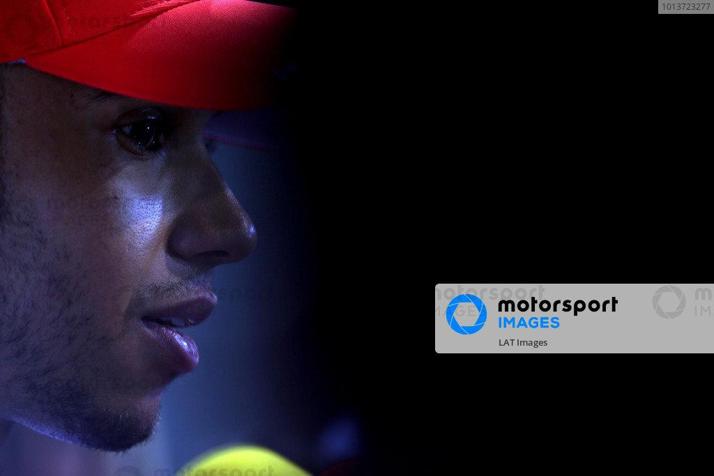 Marina Bay Circuit, Singapore.20th September 2012.Lewis Hamilton, McLaren. World Copyright: Andy Hone/LAT Photographicref: Digital Image HONZ1409