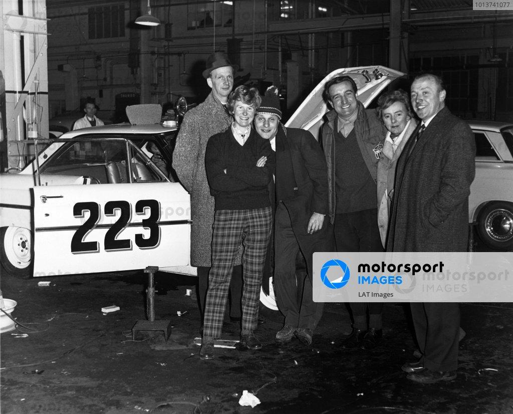1963 Monte Carlo Rally.