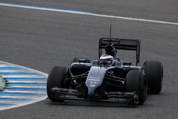 2014 F1 Pre Season Test 1 - Preview Circuito de Jerez, Jerez, Spain. Tuesday 28 January 2014.  Valtteri Bottas, Williams FW36 Mercedes. World Copyright: Alastair Staley/LAT Photographic. ref: Digital Image _R6T8778