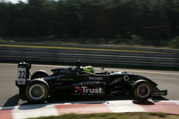 2007 Zandvoort Masters of Formula Three.Zolder, Belgium. 4th and 5th August 2007.Renger van der Zande (NED) Prema Powerteam Dallara MercedesWorld Copyright: Hoyer/Ebrey/LAT Photographic