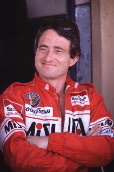 1980 Formula 1 World Championship.Patrick Depailler (Alfa Romeo).Ref-D2A 10.World - LAT Photographic