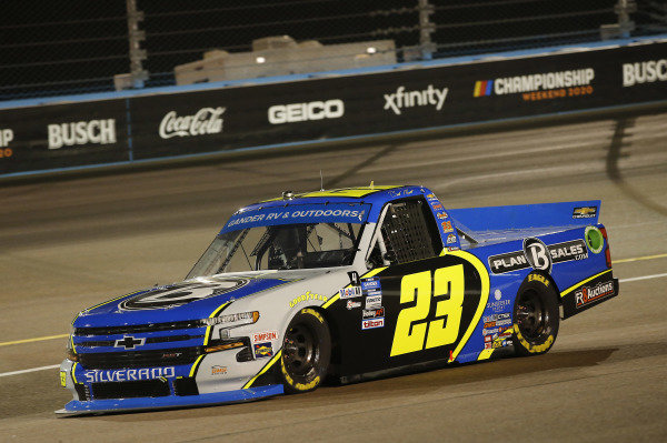 #23: Brett Moffitt, GMS Racing, Chevrolet Silverado Plan B Sales