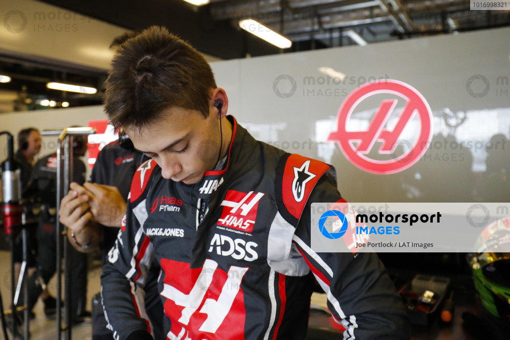 Louis Deletraz, Haas test and development driver.