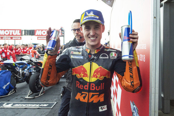 Third place Pol Espargaro, Red Bull KTM Factory Racing.
