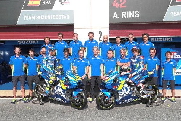 Joan Mir, Team Suzuki MotoGP and Alex Rins, Team Suzuki MotoGP.