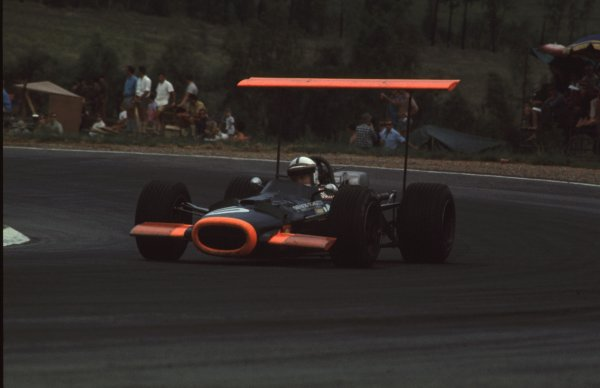 1969 South African Grand Prix.Kyalami, South Africa.27/2-1/3 1969.John Surtees (BRM P138).Ref-69 SA 91.World Copyright - LAT Photographic