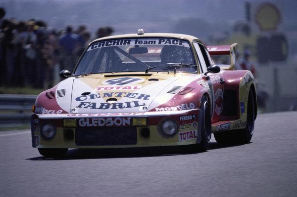 Paulo Gomes / Marinho Amaral / Alfredo Guaraná Menezes, A.S.A. Cachia-Team Pace, Porsche 935.