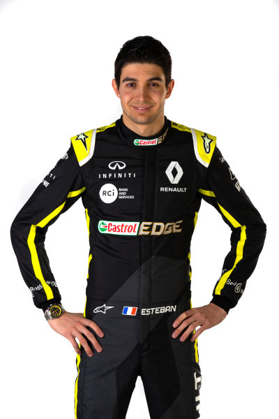 Esteban Ocon (FRA) Renault F1 Team. Copyright: James Moy/XPB/Renault F1