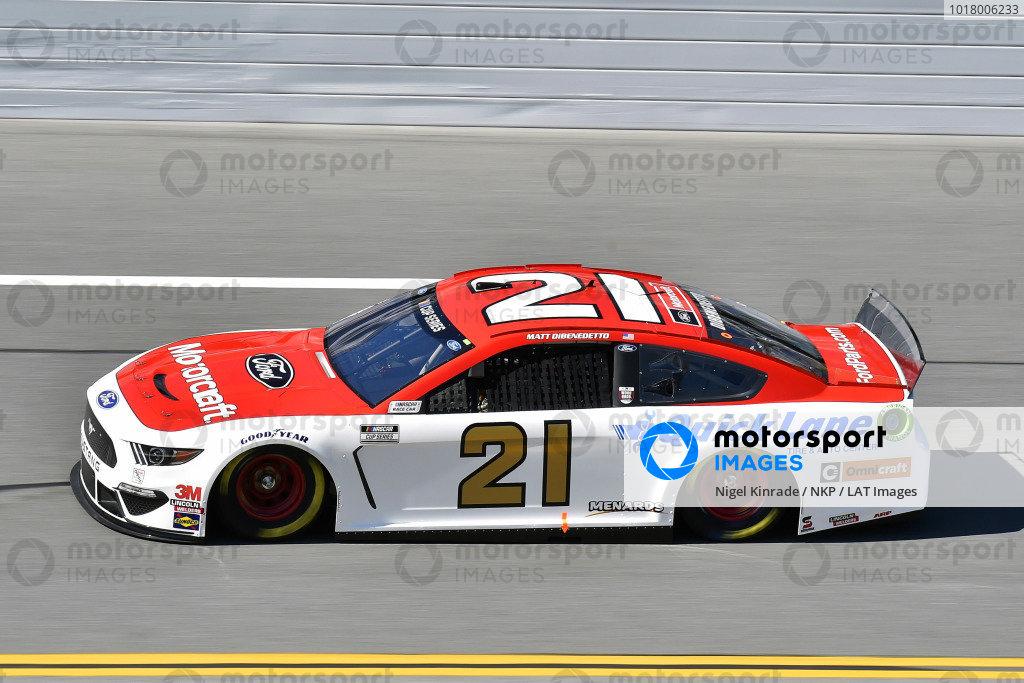 #21: Matt DiBenedetto, Wood Brothers Racing, Ford Mustang Motorcraft/Quick Lane