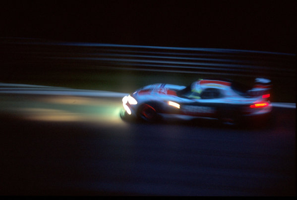 2001 Spa Francorchamps 24HoursSpa-Francorchamps, Belgium. 6th - 7th August 2001.The race winning Larbre Competition , Chrylser Viper GTS-R, of Duez, Bouchut and Belloc, in hightime action.World Copyright: Peter Fox/LAT Photographic ref: Digital Image Only