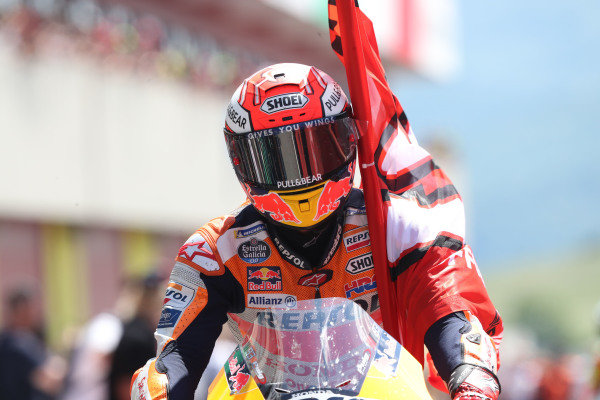 Second place Marc Marquez, Repsol Honda Team.