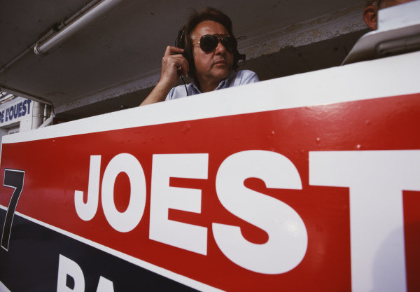 Reinhold Joest, team principle of the Blaupunkt Joest Racing team.
