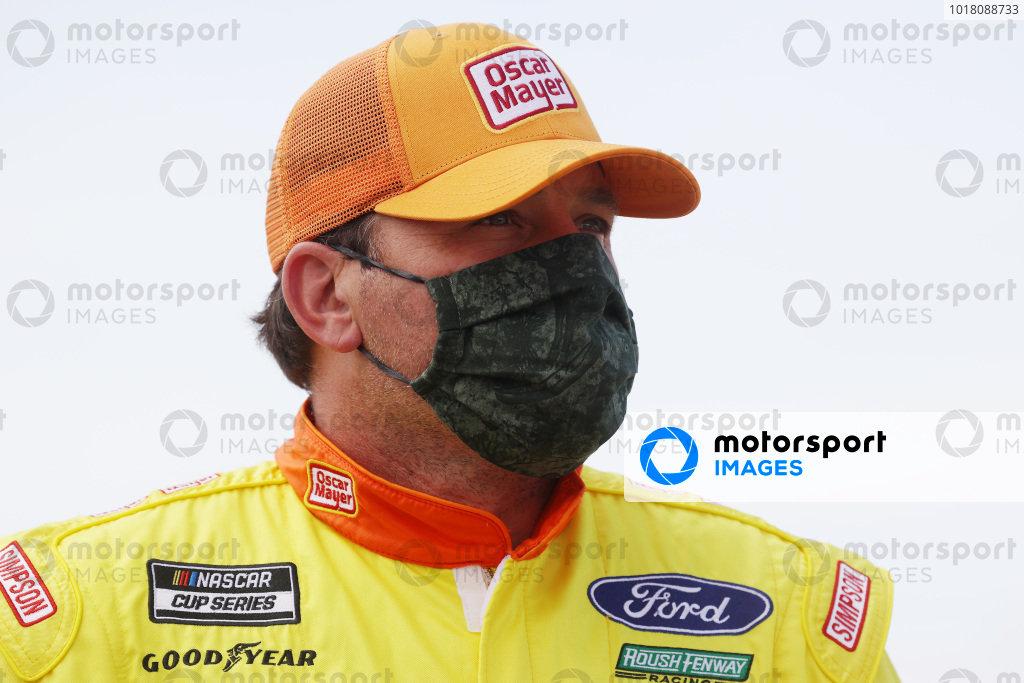 Ryan Newman, Roush Fenway Racing Ford Oscar Mayer Copyright: Chris Graythen/Getty Images.