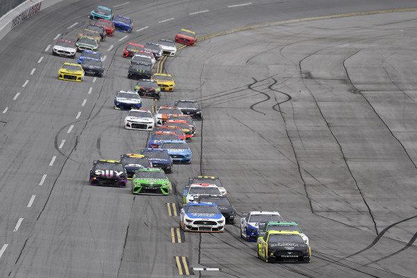 #12: Ryan Blaney, Team Penske, Ford Mustang Menards /Sylvania