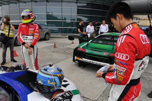 Thong Wei Fung (Shaun) (HK) Audi TEDA Racing Team at Audi R8 LMS Cup, Rd7 and Rd8, Shanghai, China, 8-10 September 2017.