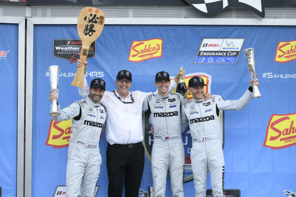 #55 Mazda Team Joest Mazda DPi, DPi: Jonathan Bomarito, Harry Tincknell, Olivier Pla, John Doonan