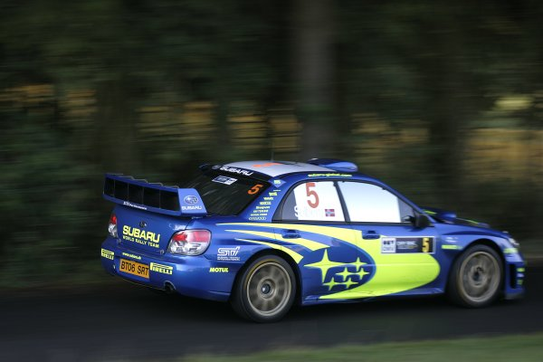 2006 FIA World Rally Champs. Round elevenDeutschland Rally.9th- 13th August 2006.Petter Solberg, Subaru, action.World Copyright: McKlein/LAT