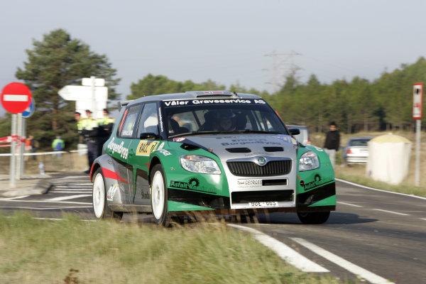 Round 11 Rally Catalunya 01-04 October 2009Eyvind Brynildsen, Skoda S2000, ActionWorldwide Copyright: McKlein/LAT