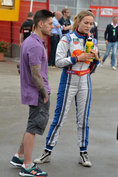 Carmen Jorda (ESP) Koiranen GP. GP3 Series, Rd1, Barcelona, Spain, 9-11 May 2014.