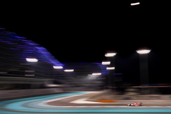 2017 FIA Formula 2 Test 3. Yas Marina Circuit, Abu Dhabi, United Arab Emirates. Saturday 2 December 2017. Sean Gelael (IDN, PREMA Racing).  Photo: Zak Mauger/FIA Formula 2. ref: Digital Image _56I0115