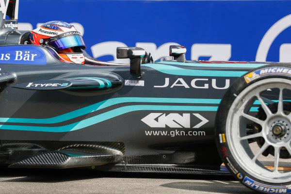 2017/2018 FIA Formula E Championship. Round 1 - Hong Kong, China. Saturday 02 December 2017. Mitch Evans (NZL), Panasonic Jaguar Racing, Jaguar I-Type II. Photo: Sam Bloxham/LAT/Formula E ref: Digital Image _W6I6149