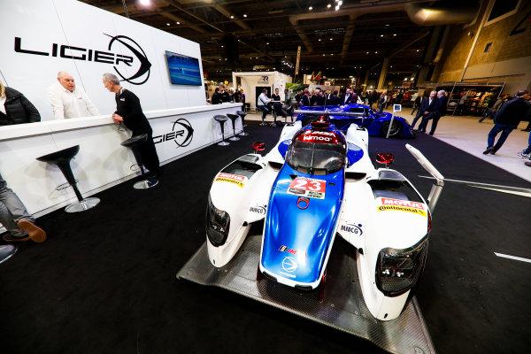 Autosport International Exhibition. National Exhibition Centre, Birmingham, UK. Friday 12th January 2018. The Ligier stand.World Copyright: Glenn Dunbar/LAT Images Ref: _31I2449