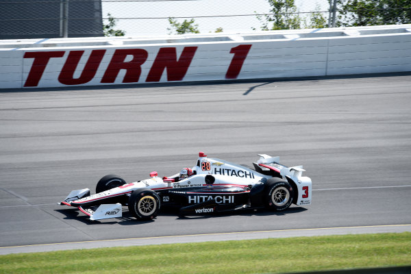 Verizon IndyCar Series ABC Supply 500 Pocono Raceway, Long Pond, PA USA Monday 21 August 2017 Helio Castroneves, Team Penske Chevrolet World Copyright: Gregg Feistman LAT Images