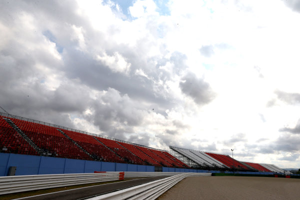2017 MotoGP Championship - Round 13 Misano, Italy. Thursday 7 September 2017 Empty Grandstands World Copyright: Gold and Goose / LAT Images ref: Digital Image 7123