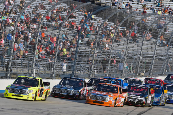 12-13 May, 2016, Dover, Delaware USA Matt Crafton and Daniel Suarez ? 2016, Nigel Kinrade LAT Photo USA