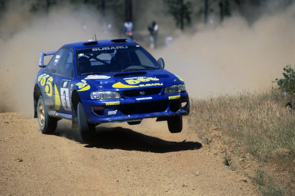1997 World Rally Championship.Australian Rally, Australia. 30 October-2 November 1997.Colin McRae/Nicky Grist (Subaru Impreza WRC), 1st position.World Copyright: LAT PhotographicRef: 35mm transparency 97RALLY10