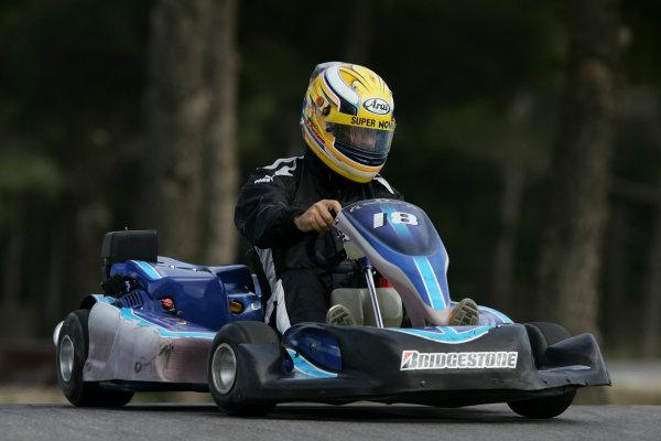 2005 GP2 Karting Challenge13th June 2005Giorgio Pantano (I, Super Nova International). Action. Circuit Paul Ricard, FranceWorld Copyright: GP2 SeriesDigital Image Only
