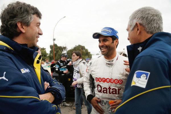 Nasser Al-Attiyah (QTR). FIA World Rally Championship, Rd5, Rally Argentina, Day Three, Cordoba-Villa Carlos Paz, Argentina, 11 May 2014.