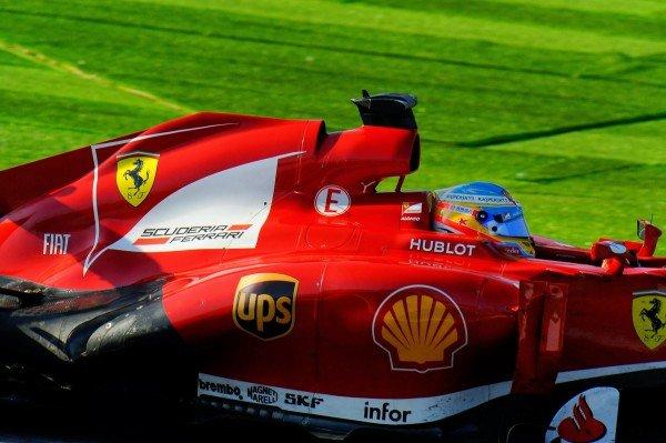 Fernando Alonso (ESP) Ferrari F138. Formula One World Championship, Rd15, Japanese Grand Prix, Race Day, Suzuka, Japan, Sunday 13 October 2013.