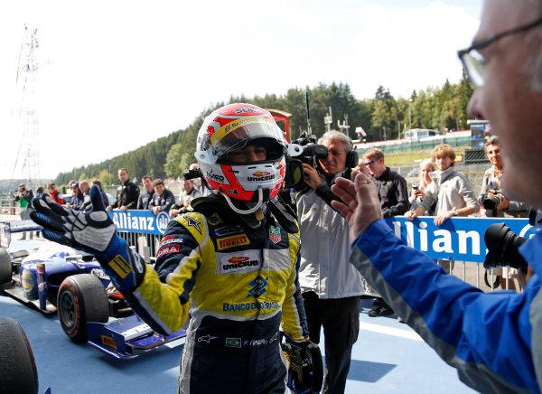 2014 GP2 Series Round 8. Spa-Francorchamps, Spa, Belgium. Sunday 24 August 2014. Felipe Nasr (BRA, Carlin)  Photo: Jed Leicester/GP2 Series Media Service. ref: Digital Image _JED9129