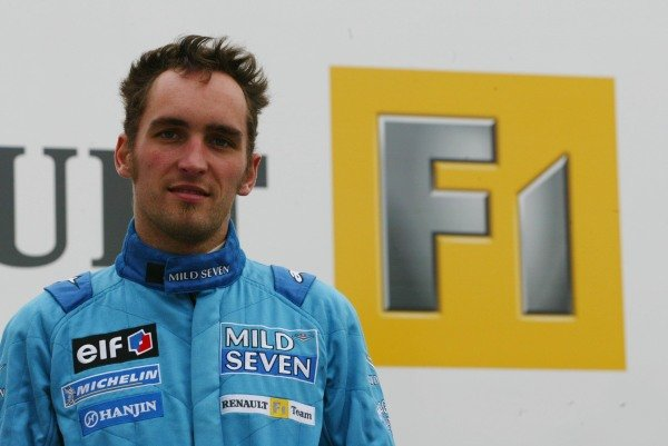 Franck Montagny (FRA) makes his debut test in the Renault R202.