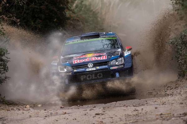 Jari-Matti Latvala (FIN) / Miikka Anttila (FIN), Volkswagen Polo R WRC at World Rally Championship, Rd4, Rally Argentina, Day One, Carlos Paz, Argentina, 24 April 2015.