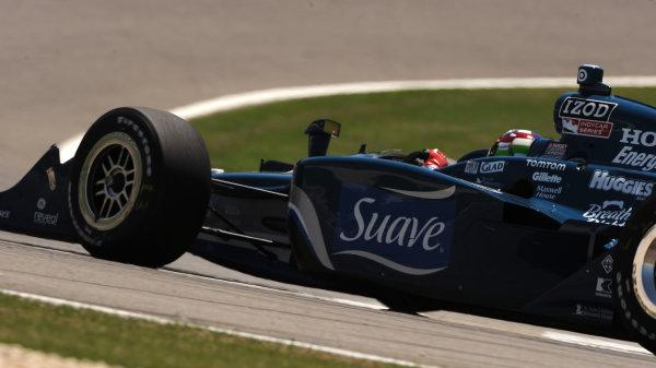 9-11 April, 2010, Birmingham, Alabama, USA.#10 Target Chip Ganassi Racing's Dario Franchitti.©Dan R. Boyd, USA LAT Photographic.