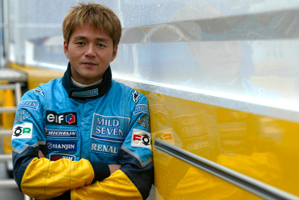 2003 Formula One Testing.