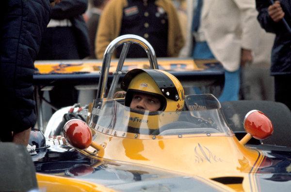 1973 Indianapolis 500.Indianapolis, Indiana, United States. 28 May 1973.Mark Donohue.World Copyright: LAT Photographicref: 35mm Transparency Image