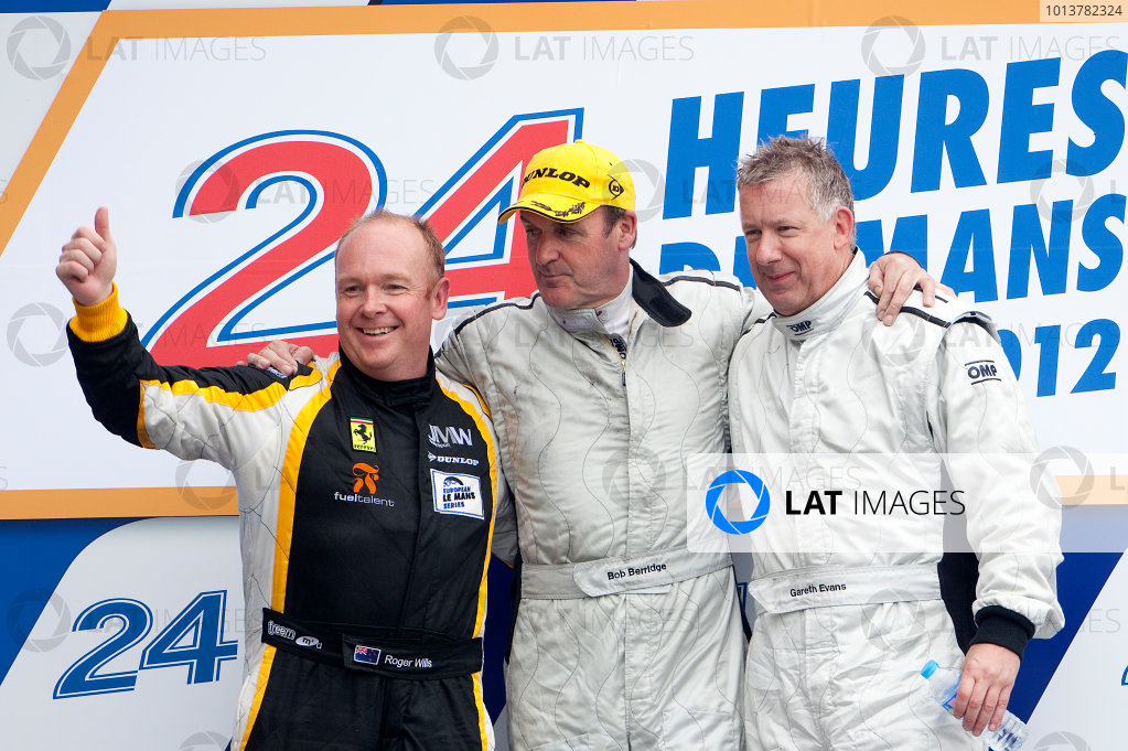 2012 Le Mans 24 Hours.