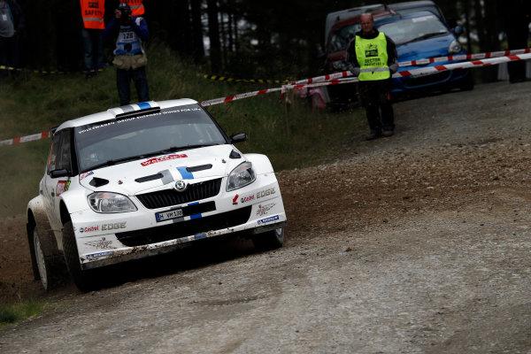 Round 10- Wales Rally GB 12-16/9- 2012.Sebastien Ogier, Skoda S2000, Action.Worldwide Copyright: McKlein/LAT