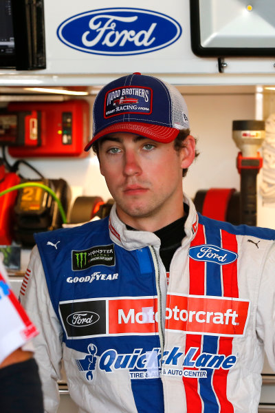 Monster Energy NASCAR Cup Series Toyota Owners 400 Richmond International Raceway, Richmond, VA USA Friday 28 April 2017 Ryan Blaney, Wood Brothers Racing, Motorcraft/Quick Lane Tire & Auto Center Ford Fusion World Copyright: Russell LaBounty LAT Images ref: Digital Image 17RIC1Jrl_0927