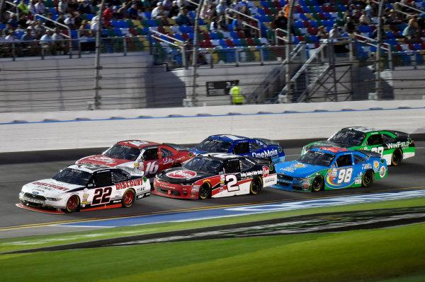 2017 Xfinity - Powershares QQQ 300 Daytona International Speedway, Daytona Beach, FL USA Saturday 25 February 2017 Brad Keselowski and Austin Dillon World Copyright: Nigel Kinrade/LAT Images ref: Digital Image 17DAY2nk11770